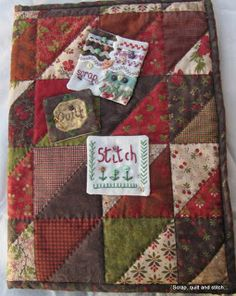 Scrap,quilt and stitch: Pochette nomade : le tuto