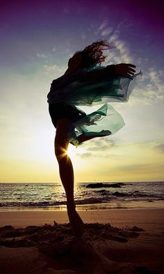 will dance with the waves till my life ends. love this.