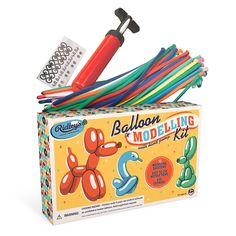 BALLOON MODELING KIT | how to balloon animals | UncommonGoods