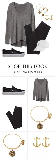 """""""Basketball Starts Tomorrow"""" by northernprep-nl12 ❤ liked on Polyvore featuring Vans, Gap, American Eagle Outfitters, Alex and Ani, Fornash and Polo Ralph Lauren"""