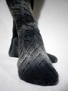Ravelry: U-Hana's 残念くつした・・・- free knitting pattern
