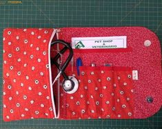 Nurse Bag, Pet Clinic, Easy Sewing Patterns, Midwifery, Dental, Sewing Projects, Medicine, Coin Purse, Patches
