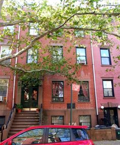 not a brownstone (completely) but it has the kind of interesting back story that would be awesome to find in an old brownstone in Brooklyn