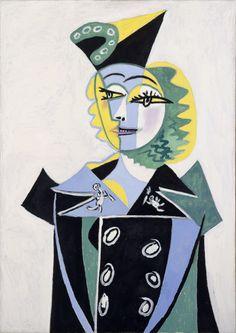 """Pablo Picasso, """"Portrait de Nusch Eluard"""" RMN-Grand Palais Musée Picasso de Paris"""