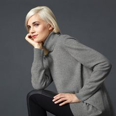 cashmere: the ultimate luxury, any way you wear it (Holiday Giveaway Pin)