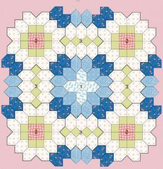 Patchwork of the Crosses - Quilts (beginners) tutorial