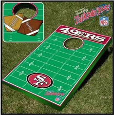 NFL Tailgate Toss Cornhole Set - Cornhole Game Sets at Corn Hole Plus