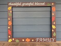Photo Booth Frame Thanksgiving, Thanksgiving Photobooth by PalletCreatives