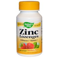 You can shorten the common cold by 3 days if you take a zinc lozenge at the first sign of sniffling and sneezing