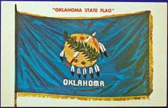 USA - PATRIOTIC, OKLAHOMA STATE FLAG