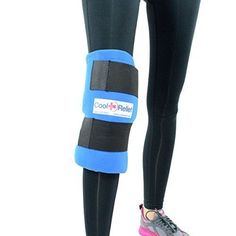 c1856dfd86 Cool Relief Soft Gel Knee Ice Wrap Cold Therapy Compression Ice Pack  Universal Size **