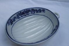 Flow Blue Mold Vintage Gorgeous by JennersGemsVintage on Etsy, $39.00