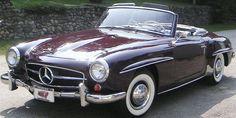 '59 Mercedes Benz 190 sl Cabrio