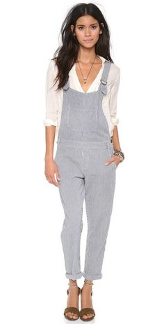 Cute overalls. (Seriously!)