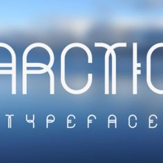 "love the way that there are two ""T's"" in Arctic and Typeface that are frontwards and backwards and put together to make one ""T""."