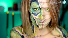 Medusa/Stone Makeup Tutorial