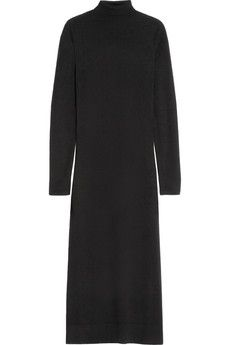 Agnona Turtleneck cashmere and silk-blend sweater dress   NET-A-PORTER