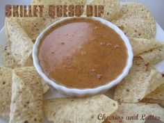 chili's skillet queso dip, yum!