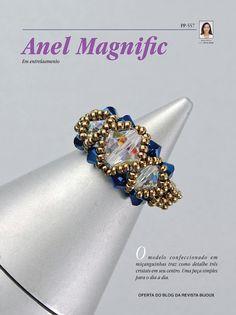 REVISTA BIJOUX: Como Fazer: MAXICOLAR LUXOR & Anel Magnific