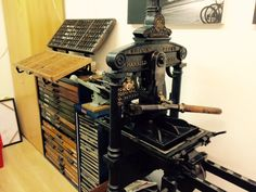My 1867 Harrild and Sons Demy Folio Hand Press