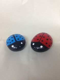 A personal favorite from my Etsy shop https://www.etsy.com/listing/233612758/hand-painted-ladybug-garden-rocks-garden