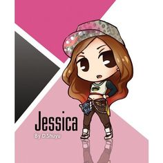 I Got A Boy Chibis Girls Generation/SNSD ❤ liked on Polyvore featuring snsd