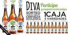 Sorteo de 1 pack de 15 botellines de DIVA.