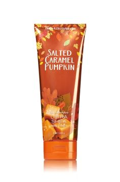 Salted Caramel Pumpkin Ultra Shea Body Cream - Signature Collection - Bath…