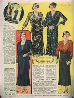 Lane Bryant spring/summer 1932 - I had no clue LB had been around this long!  :o)