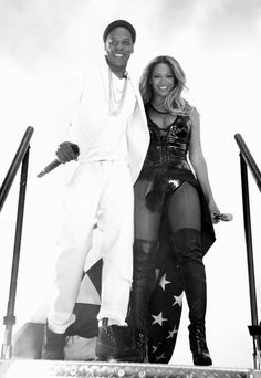 Beyonce & Jay On The Run Tour Stade de France Paris 13th September 2014