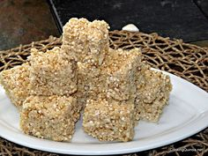 Crispy Quinoa Treats