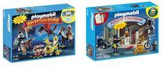 Calendario de adviento Playmobil Batalla del tesoro del dragón y policías y ladrones