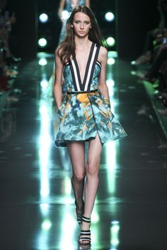 Catwalk photos and all the looks from Elie Saab Spring/Summer 2015 Ready-To-Wear Paris Fashion Week