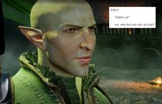 bubonickitten:   Dragon Age: Inquisition + text... |  For all your trashy Dragon Age needs