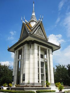 Phnom Penh, Cambodia - The Killing Fields. A moving memorial to those who lost their lives during the genocide which took place under the Khmer Rouge in the 1970s. #travel #Asia