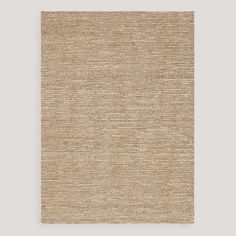 One of my favorite discoveries at WorldMarket.com: Beige Deca Flat-Woven Jute Rug