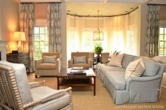 LUCY WILLIAMS INTERIOR DESIGN BLOG: BEFORE AND AFTER: PINEWOOD LIVING ROOM SNEAK PEAK