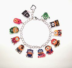 Despicable Me Minion Charm Bracelet as  Super heroes by Murals4U, $19.99