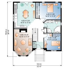 1b...First Floor of Plan ID: 14619