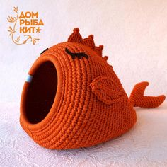 "Pattern / Crochet cat bad ""Whale for cat"" PDF tutorial with photo and pattern/ Crochet pattern/ DIY/Crochet tutorial - canlarım için Cat Cave Crochet Pattern, Diy Crochet Cat Bed, Gato Crochet, Cat Couch, Crochet Motifs, Crochet Patterns For Beginners, Crochet Home, Crochet Animals, Crochet Projects"