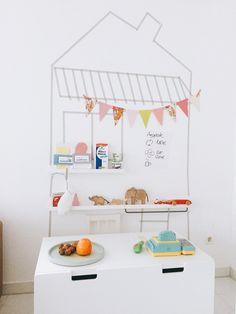 DIY Kinderkaufladen, natürlich selbst gemachte Ware für Kinderkaufladen,Kopfkonzert Indoor Activities For Kids, Games For Kids, Diy For Kids, Crafts For Kids, Crochet Food, Diy Games, Jaba, Baby Sewing, Kids Playing