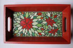 Petit plateau ou vide-poche en mosaique : Accessoires de maison par mosa-louisa