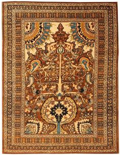 Antique Oriental rugs, Tabriz Persian #43498 from the Nazmiyal Collection  http://nazmiyalantiquerugs.com/antique-rugs/tabriz-rugs-antique/