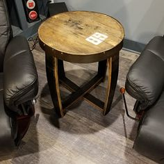 Terral Artis added a photo of their purchase Bourbon Barrel Furniture, Barrel Projects, Whiskey Brands, Barrel Chair, Patio Chairs, Rustic Wood, Whiskey Barrels, Outdoor Furniture, Etsy App