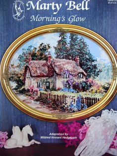Morning's Glow By Marty Bell Vintage Cross Stitch by NeedANeedle, $8.75