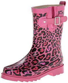 Western Chief Sparkle Leopard Buckle Rain Boot , Pink, 10 M US Toddler Western Chief http://www.amazon.com/dp/B00EW16YIK/ref=cm_sw_r_pi_dp_TEtdxb1QP2KH6