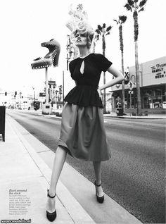 Hailey Clauson in 'Viva, Las Vegas'  Photographed by Nicole Bentley  Vogue Australia March 2012