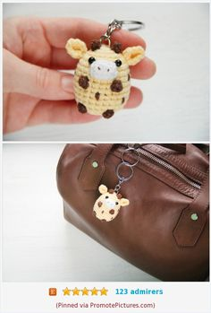 Crochet Amigurumi Free Patterns, Crochet Animal Patterns, Stuffed Animal Patterns, Funny Giraffe, Cute Giraffe, Crochet Keychain, Cute Keychain, Giraffe Crochet, Crochet Animals