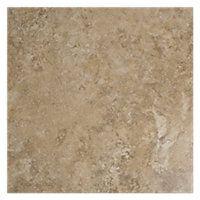 Chiaro Crosscut Porcelain 13 x 13 in.  This tile best represents a Natural stone like Travertine.