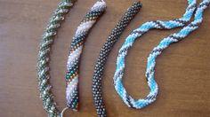 Tutorial spirale crochet con perline - Come fare una spirale di perline ...